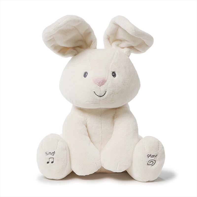 Flora Bunny Animated Plush   Toy