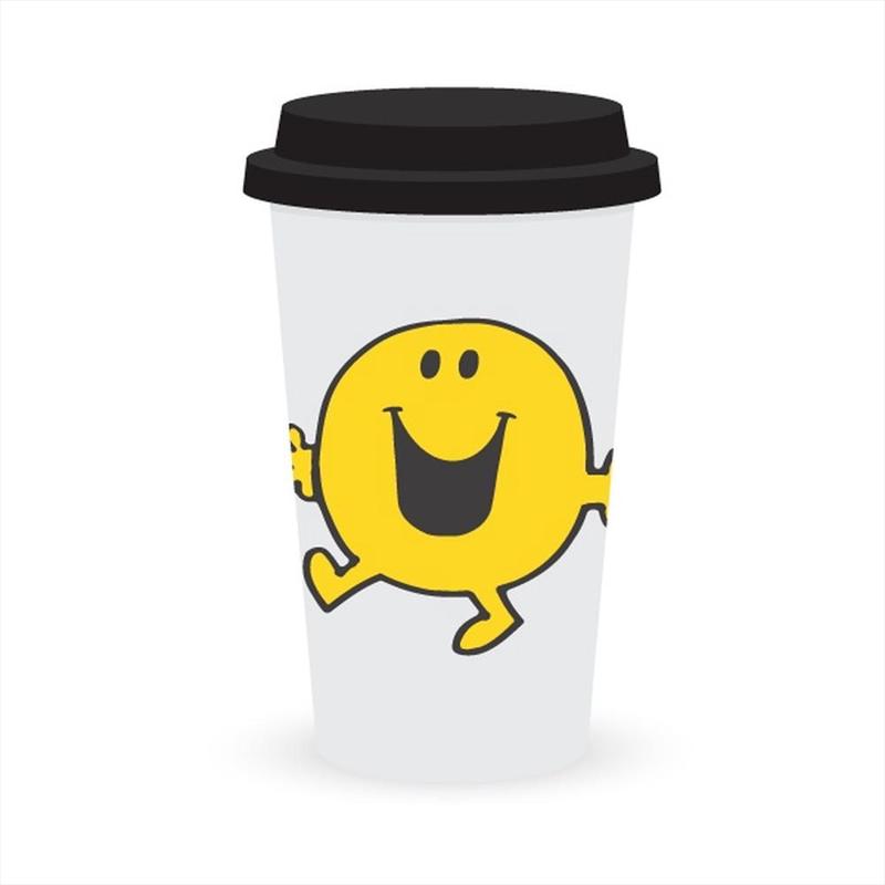 Travel Mug - Mr Happy   Merchandise