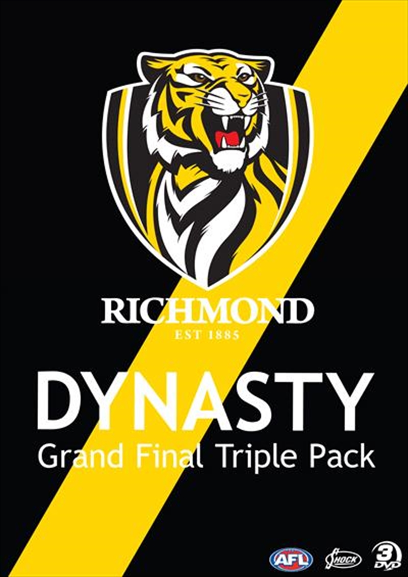 AFL - Richmond Dynasty   Grand Final Triple Pack   DVD