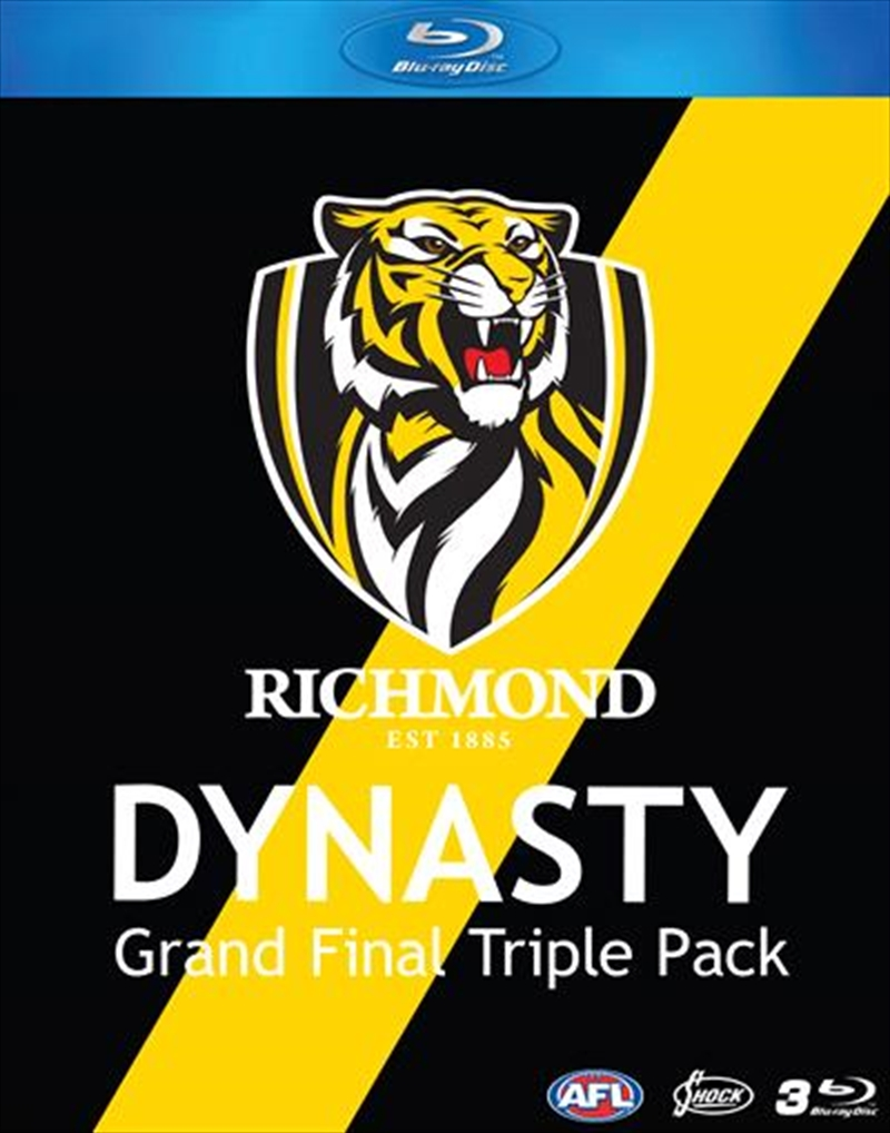 AFL - Richmond Dynasty | Grand Final Triple Pack | Blu-ray