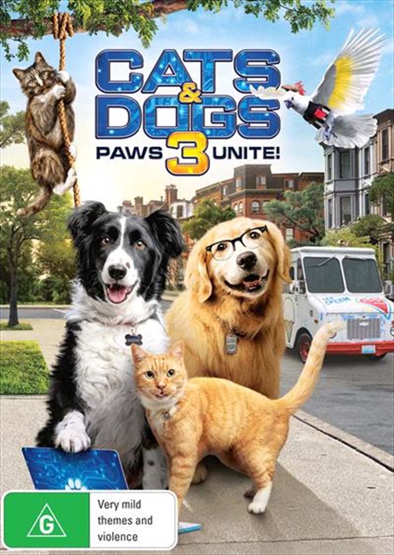 Cats and Dogs 3 - Paws Unite | DVD