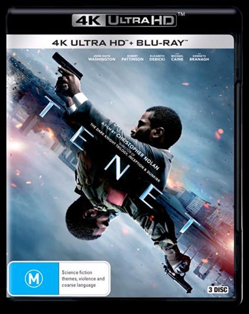 Tenet | Blu-ray + UHD | UHD