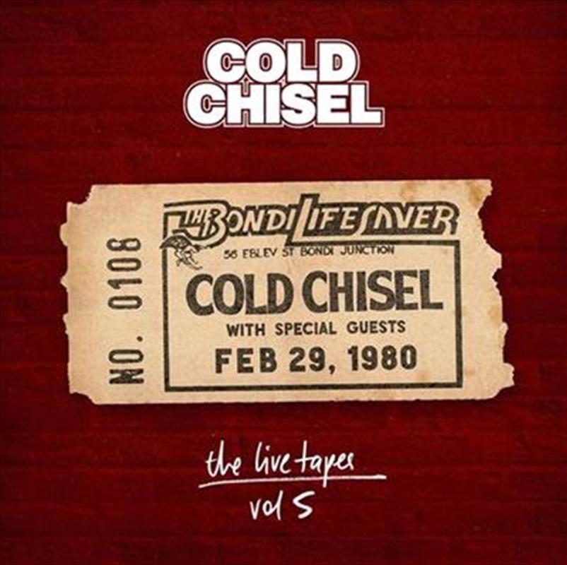 Live Tapes Vol 5 - Live at the Bondi Lifesaver February 29,1980 | CD