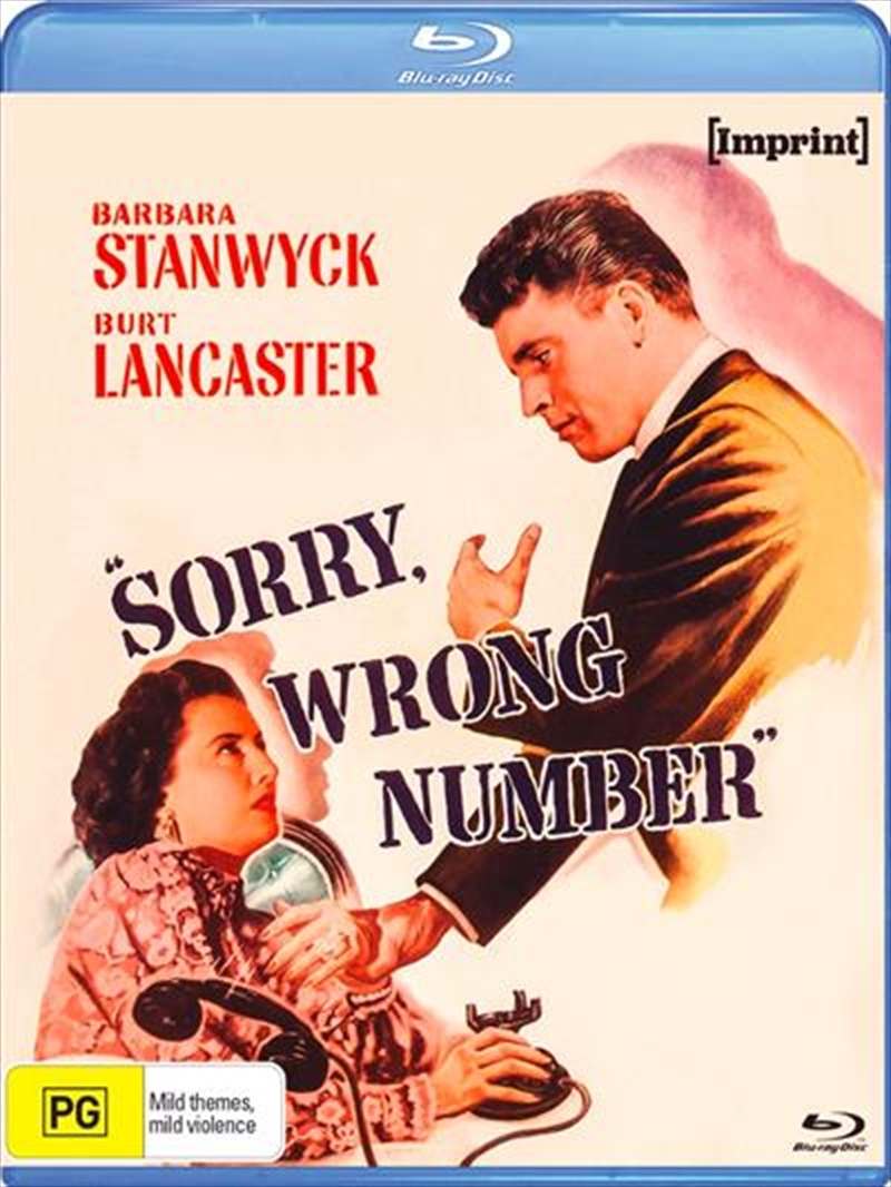 Sorry, Wrong Number | Imprint | Blu-ray