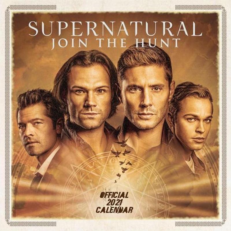 Supernatural 2021 Square Calendar | Merchandise