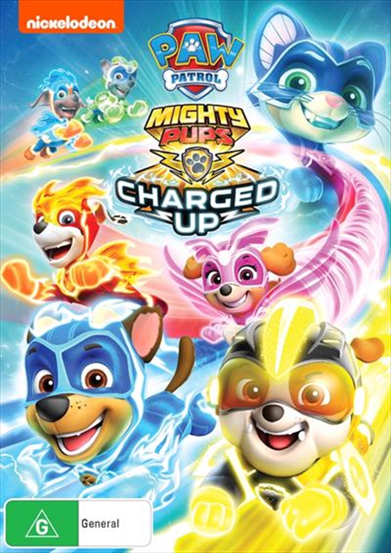 Paw Patrol - Mighty Pups - Charged Up | DVD