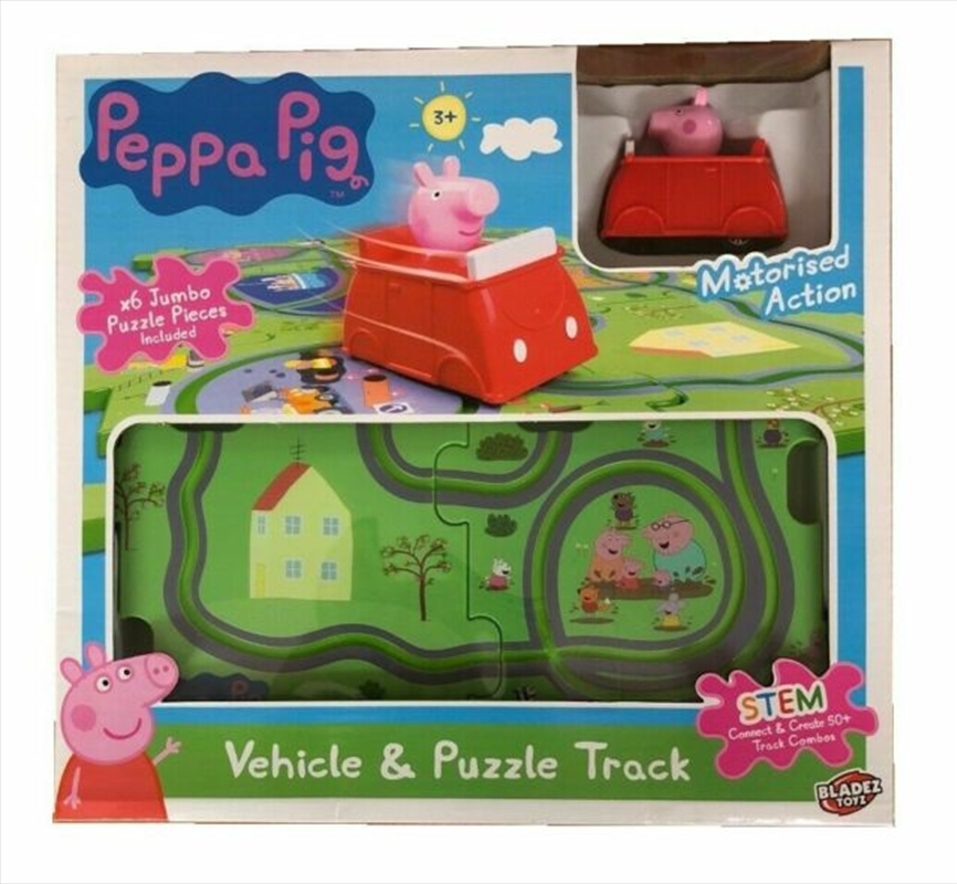 Peppa Pig Motor Track Playset | Toy