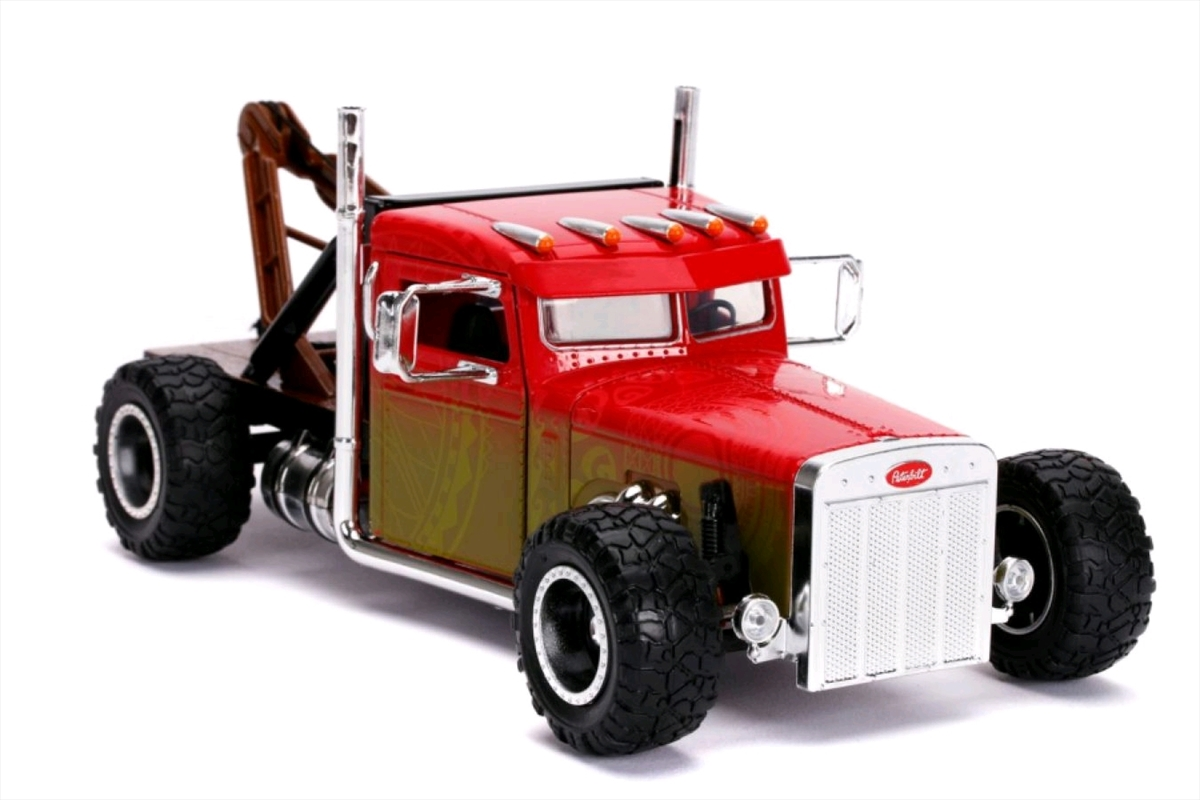 Fast and Furious - Hobbs & Shaw Custom Truck 1:24 Scale Hollywood Ride | Merchandise
