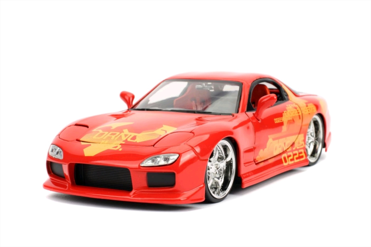 Fast and Furious - '93 Mazda RX-7 1:24 Scale Hollywood Ride   Merchandise