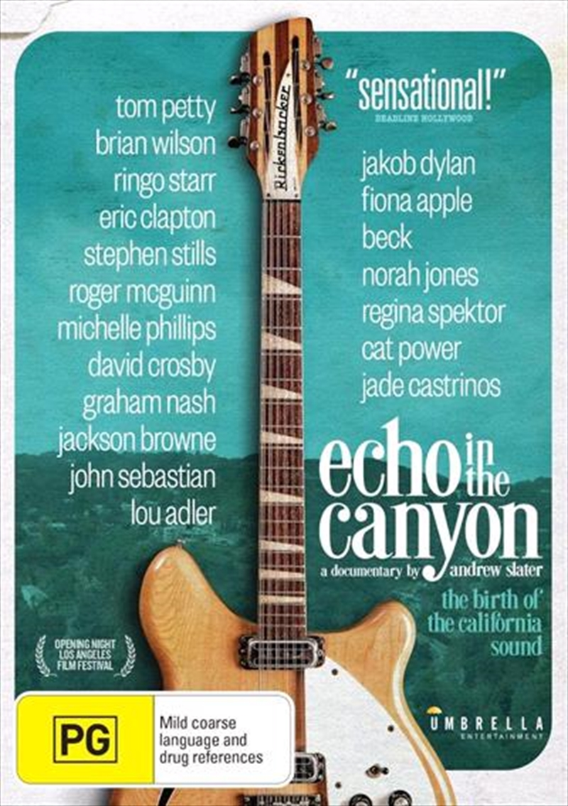Echo In The Canyon   DVD