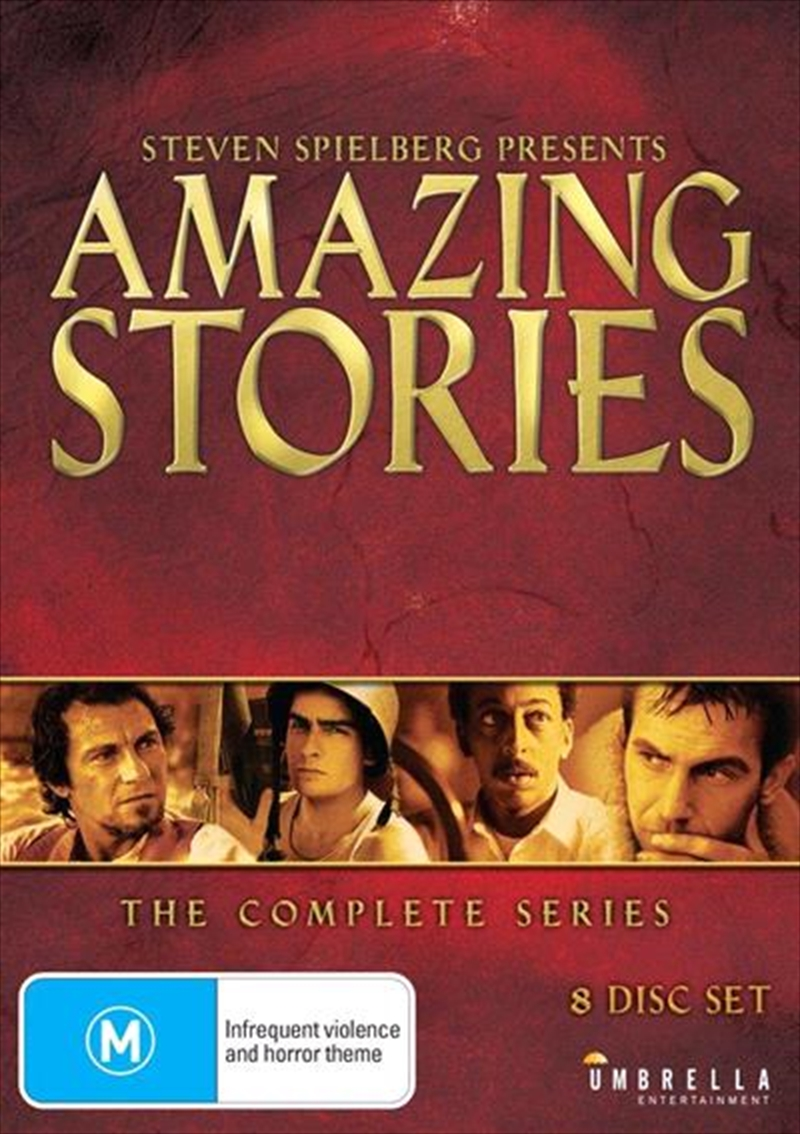 Steven Spielberg Presents Amazing Stories | Complete Collection | DVD