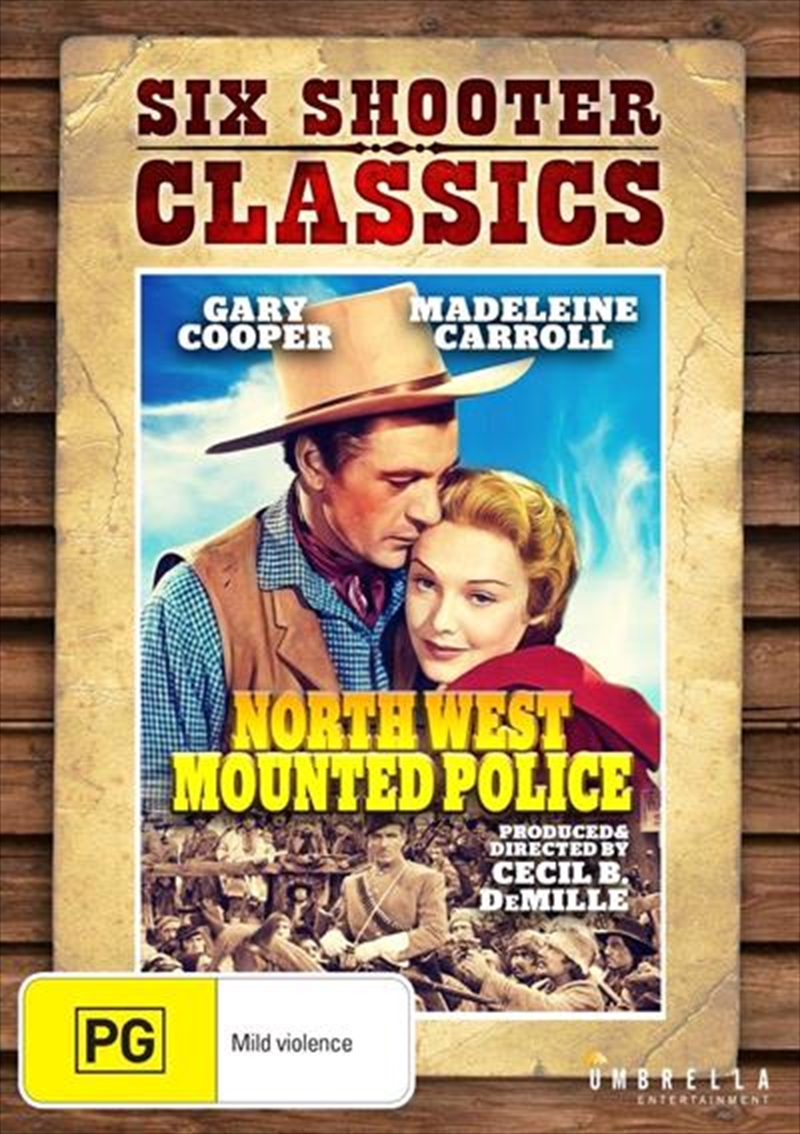 North West Mounted Police | DVD
