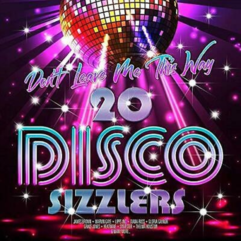 Don't Leave Me This Way - 20 Disco Sizzlers | Vinyl