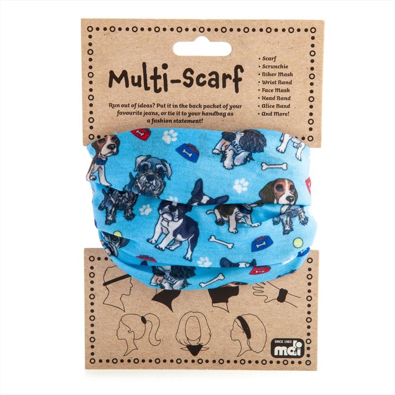 Dog Multi Scarf   Apparel