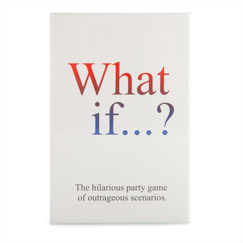 What If Card Game | Merchandise