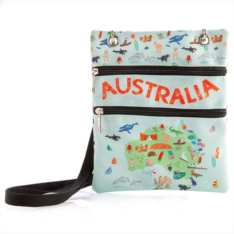 Aussie Travel Multi Pouch | Apparel