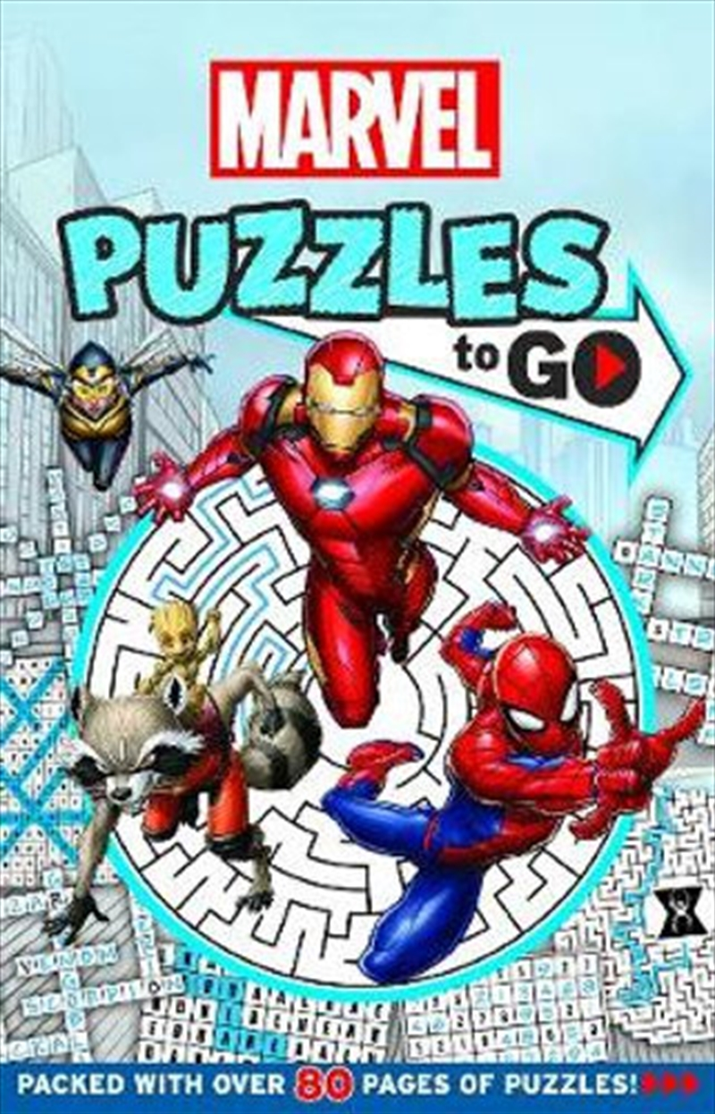 Marvel: Puzzles To Go! | Paperback Book