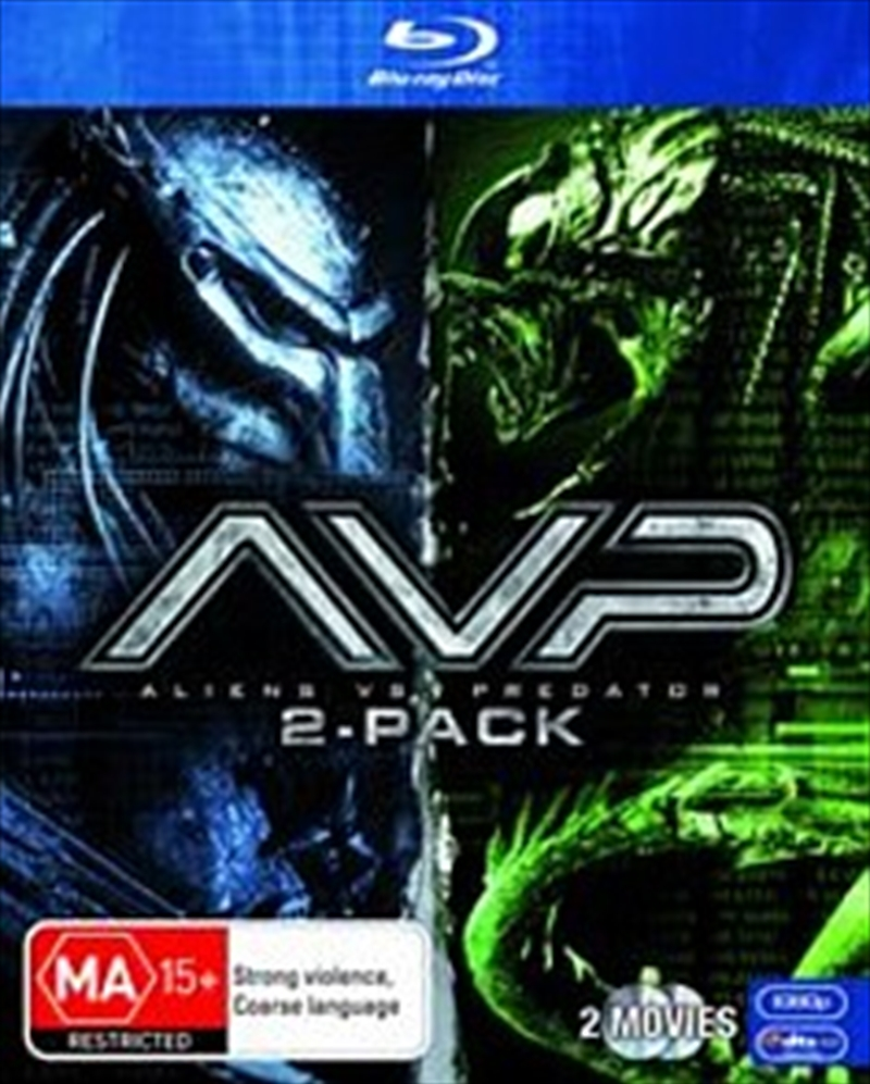 Alien Vs Predator 1 & 2 | Blu-ray