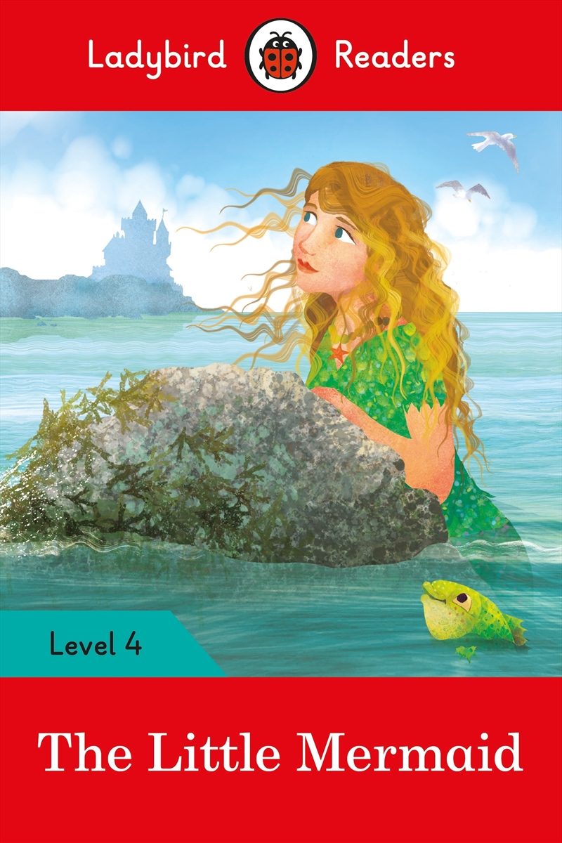The Little Mermaid - Ladybird Readers Level 4 | Paperback Book