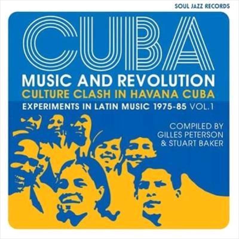 Cuba - Experiments In Latin Music 1975-85 - Volume 1   Vinyl