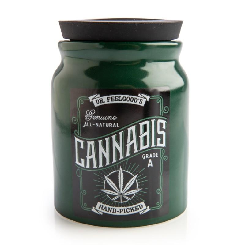 Large Cannabis Stash It! Storage Jar | Merchandise
