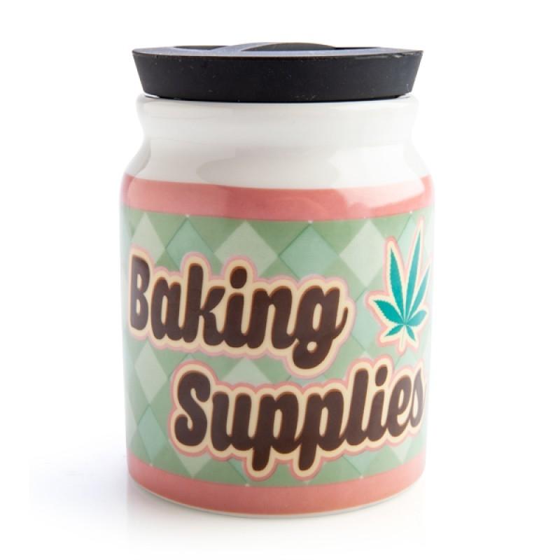 Large Baking Supplies Stash It! Storage Jar | Merchandise