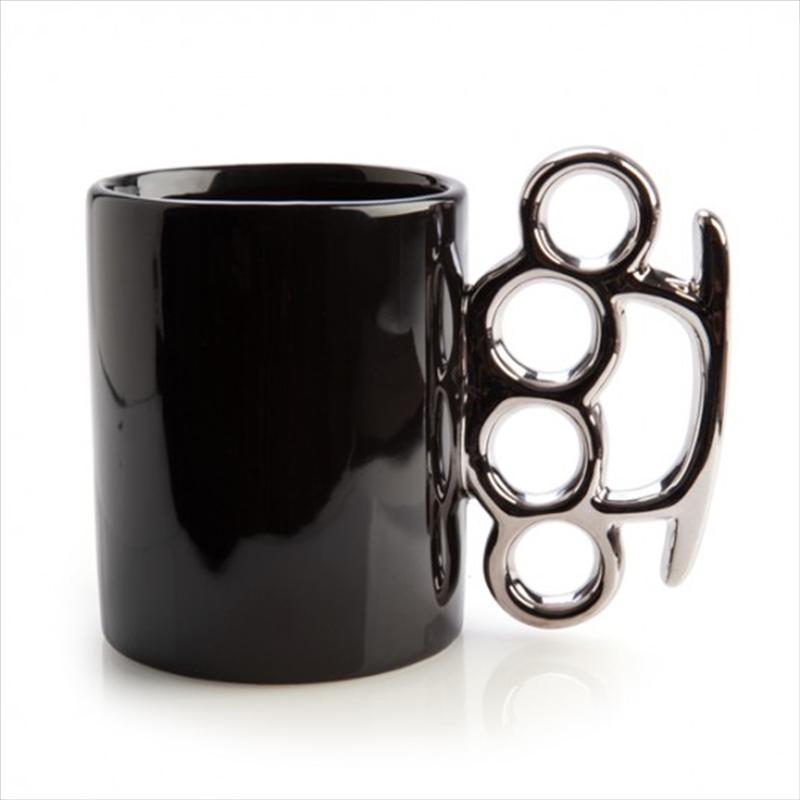 Knuckle Duster Ceramic Mug | Merchandise