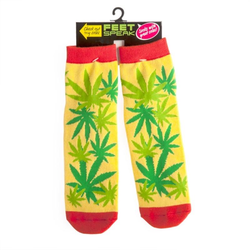 Weed Feet Speak Socks | Apparel
