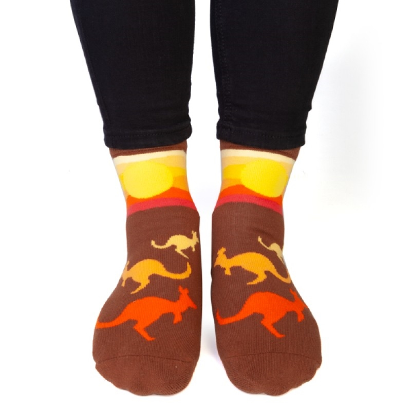 Kangaroo Feet Speak Socks | Apparel