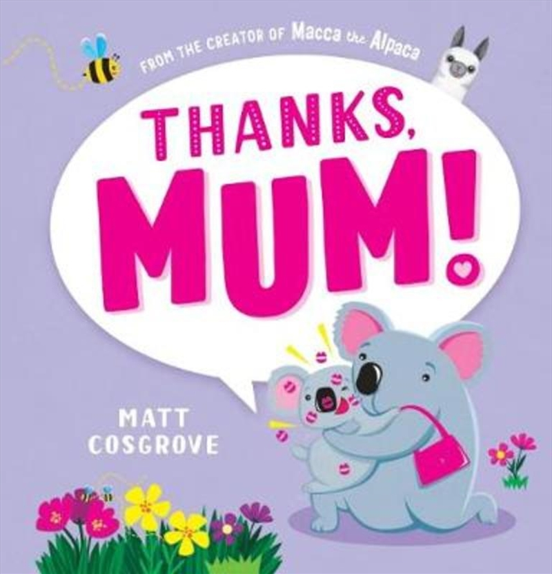 Thanks, Mum | Hardback Book