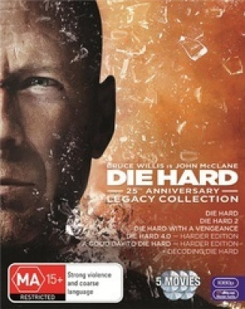Die Hard - Legacy Collection - 25th Anniversary Edition | Blu-ray