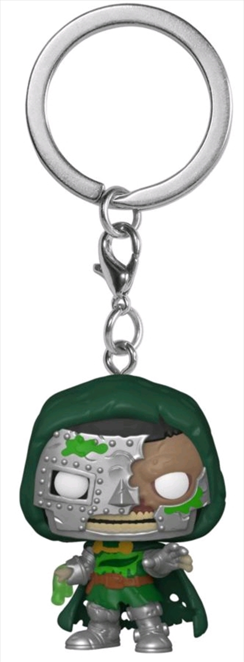 Marvel Zombies - Dr Doom Pocket Pop! Keychain | Pop Vinyl