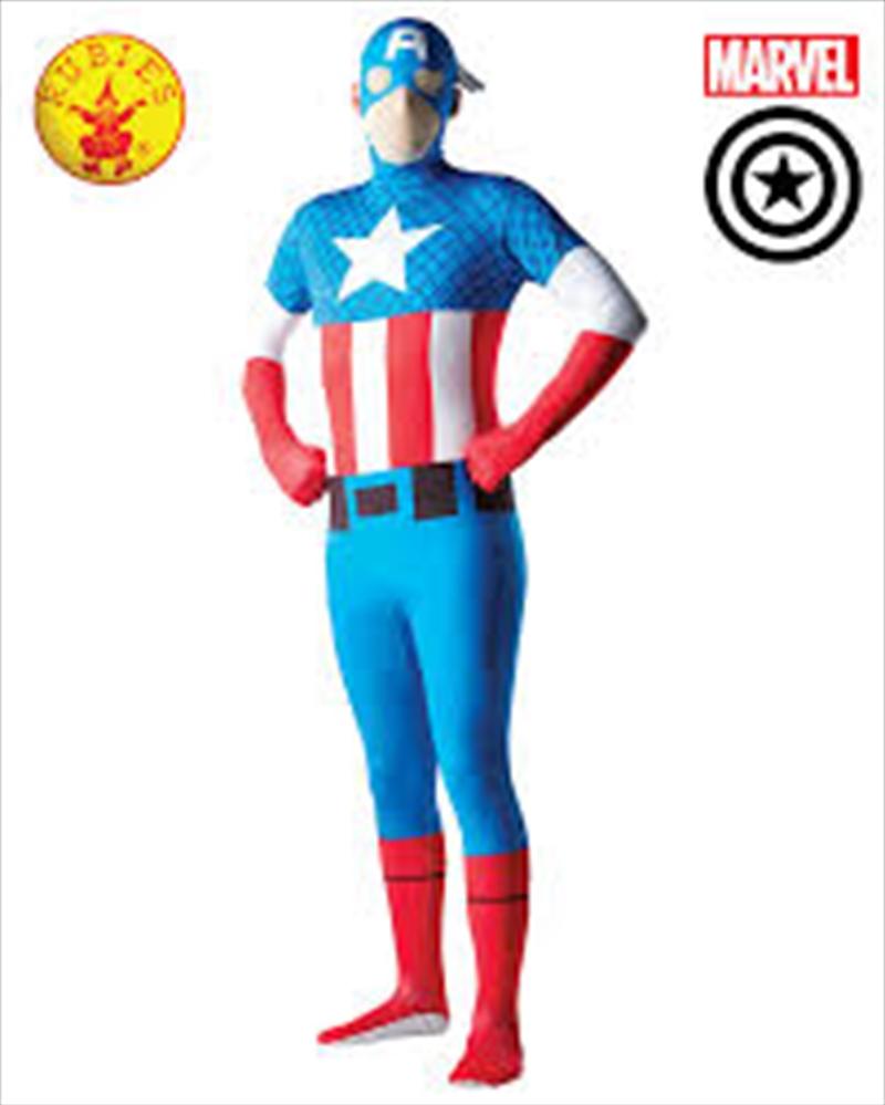 Captain America 2nd Skin: L   Apparel