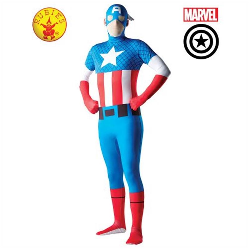 Cptn America 2nd Skin Suit: Xl | Apparel