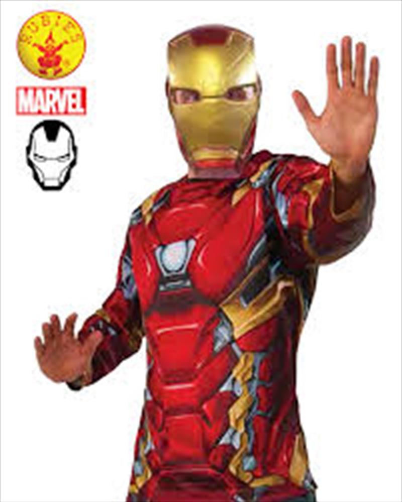 Iron Man Adult Costume Top: Xl | Apparel