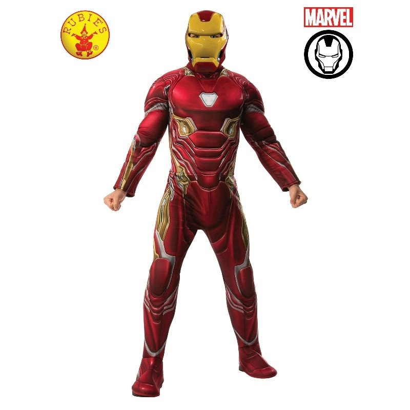 Iron Man Deluxe Avg4: Xl | Apparel