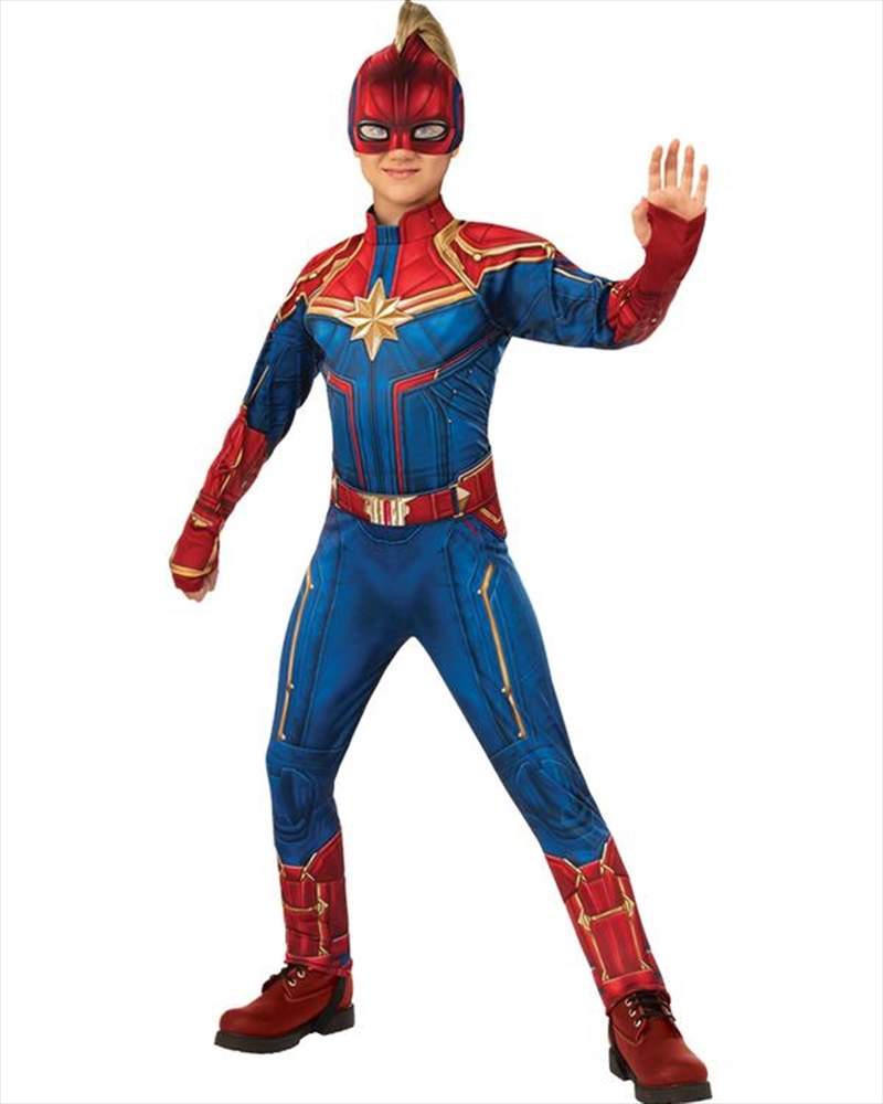 Captain Marvel Dlx Hero: 8-10 | Apparel