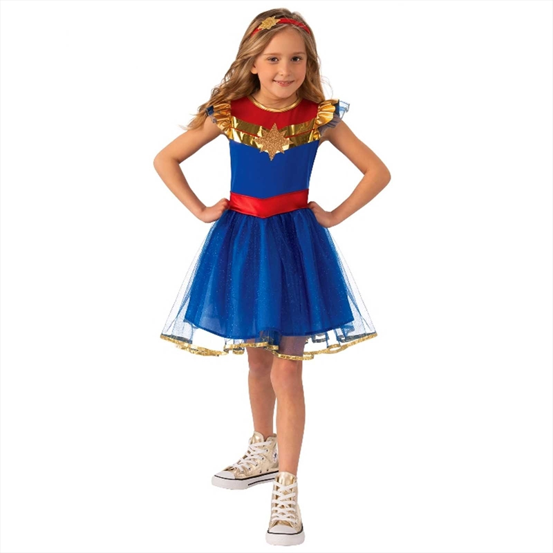 Captain Marvel Tutu Dress: 4-6 | Apparel