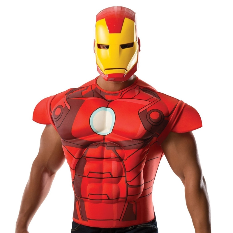 Ironman M/C Shirt: Size Std | Apparel