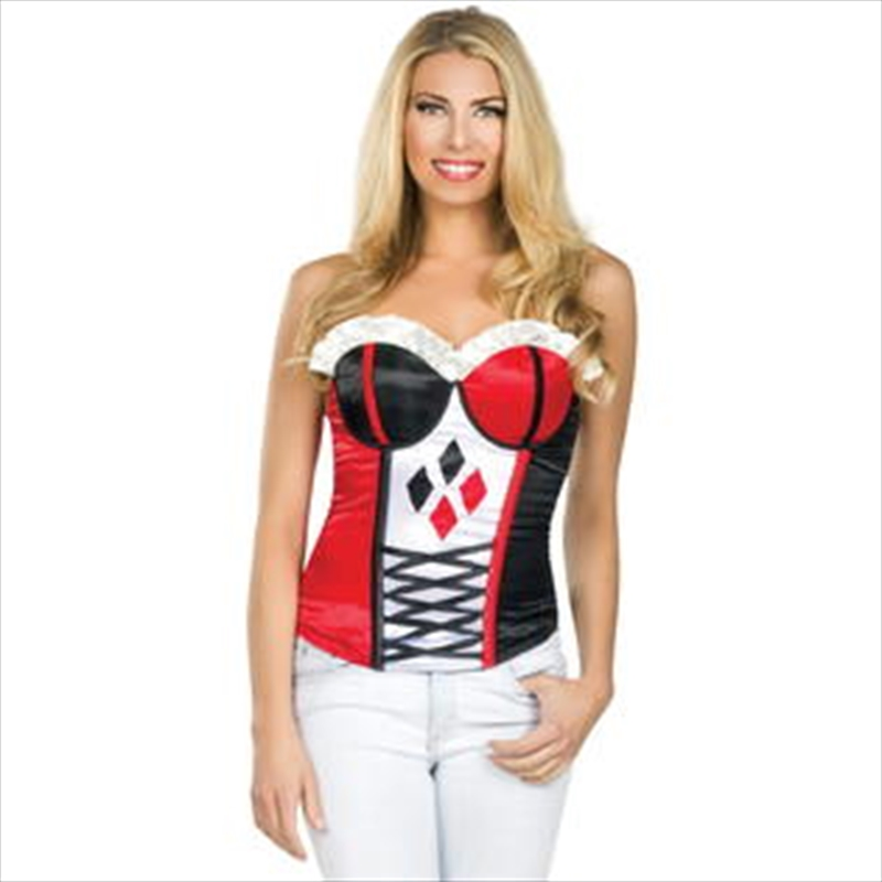 Harley Quinn Corset: Size M | Apparel