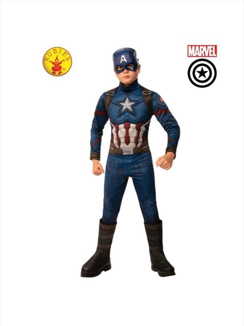 Captain America Dlx Avg4: 3-5 | Apparel
