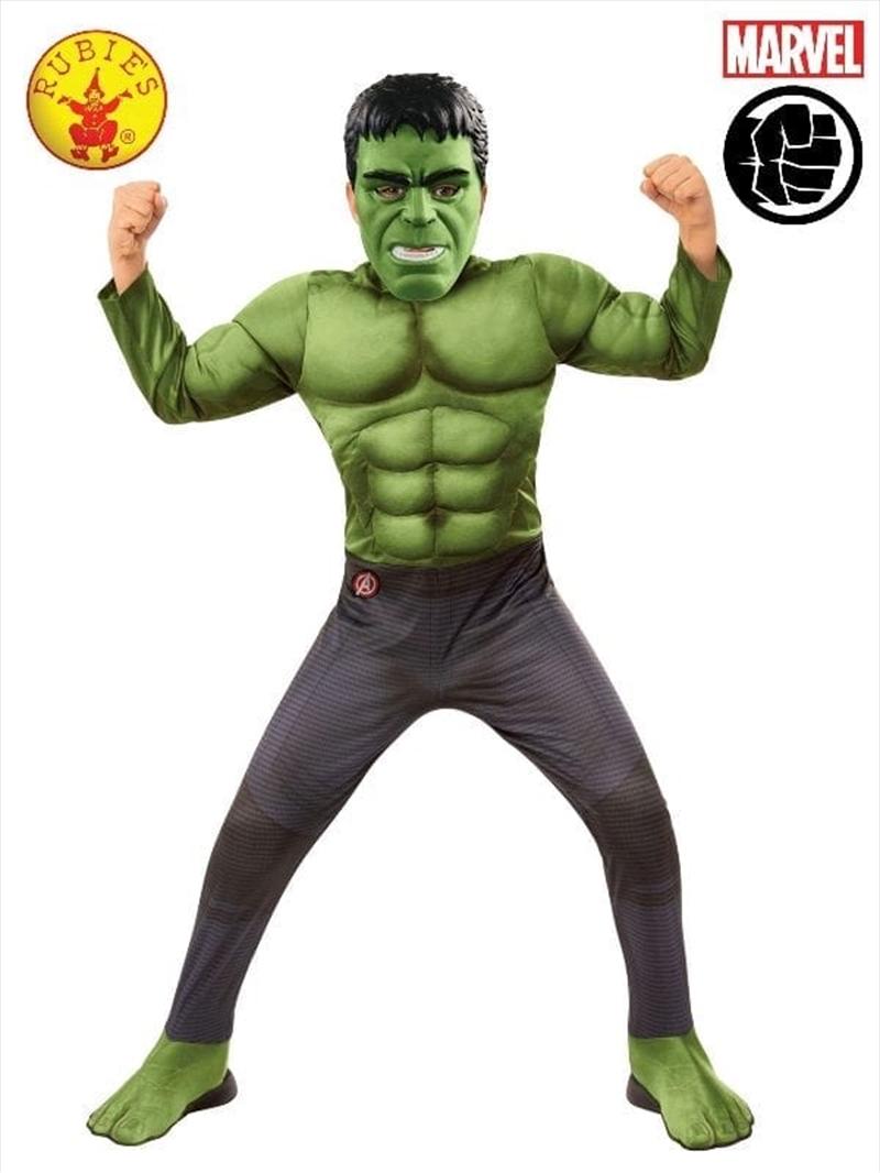 Hulk Deluxe Avg4: 8-10yr | Apparel