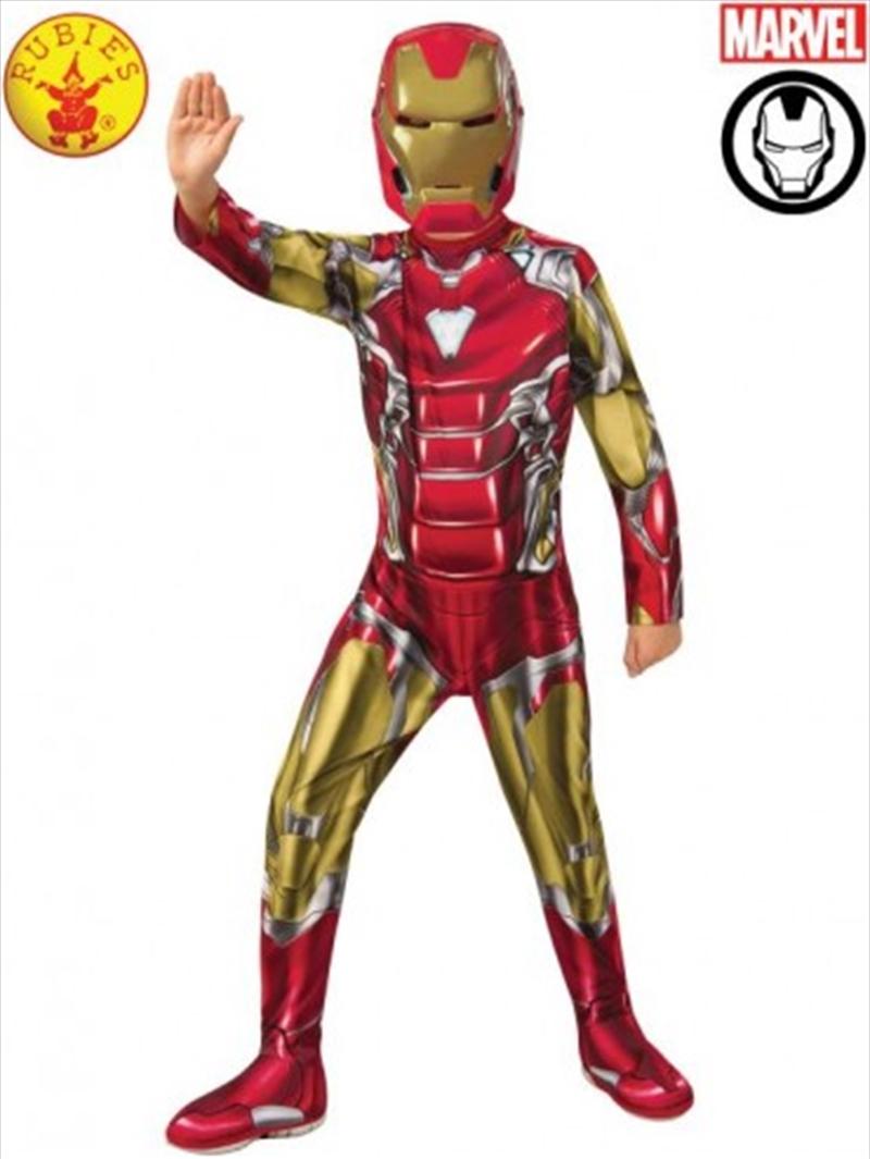 Iron Man Classic Avg4: 6-8yrs   Apparel