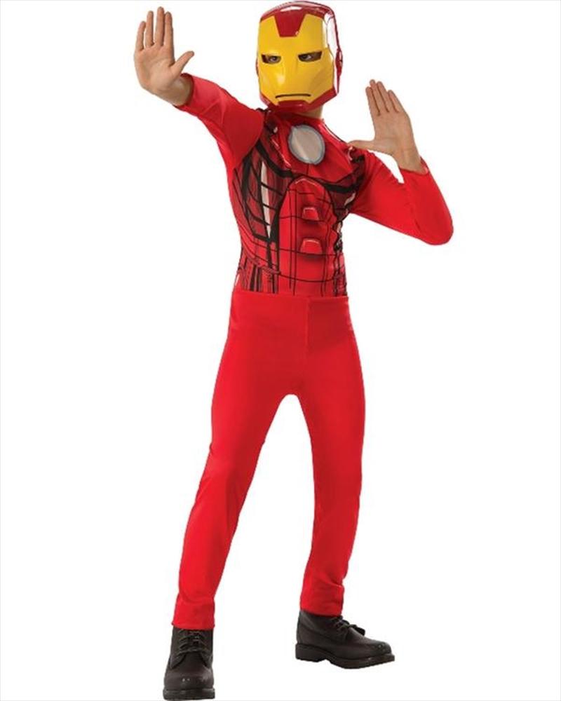 Iron Man Classic: Size 3-5   Apparel