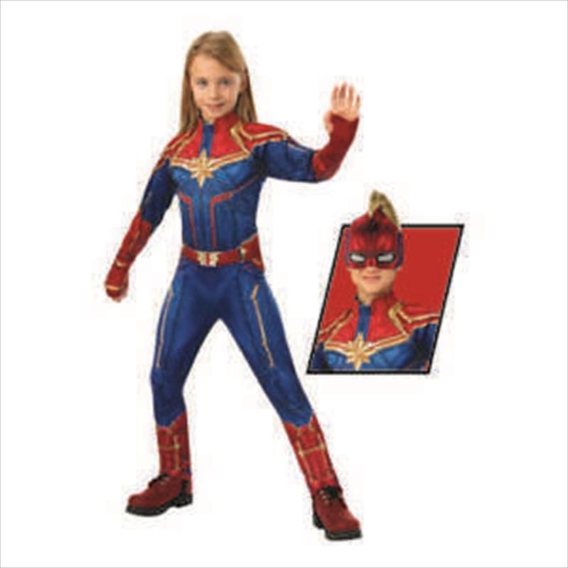 Captain Marvel Dlx Hero: 6-8   Apparel