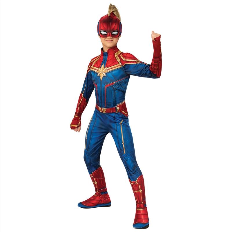 Captain Marvel Class Hero: 3-5   Apparel