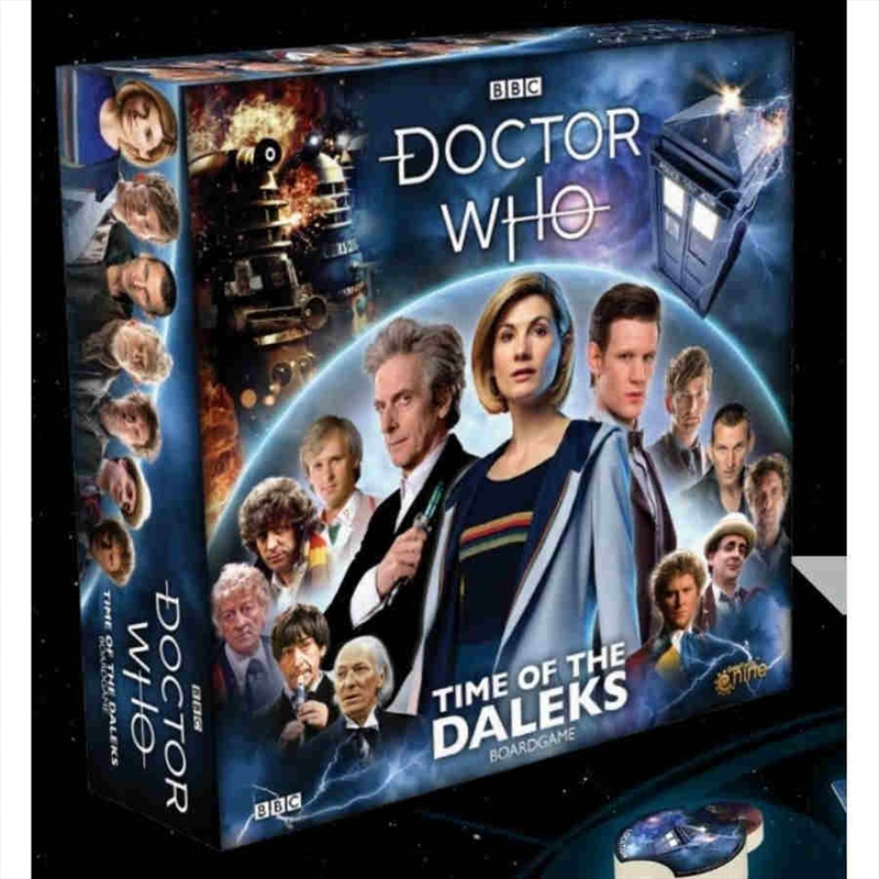 Doctor Who - Time of the Daleks (updated edition) Board Game   Merchandise