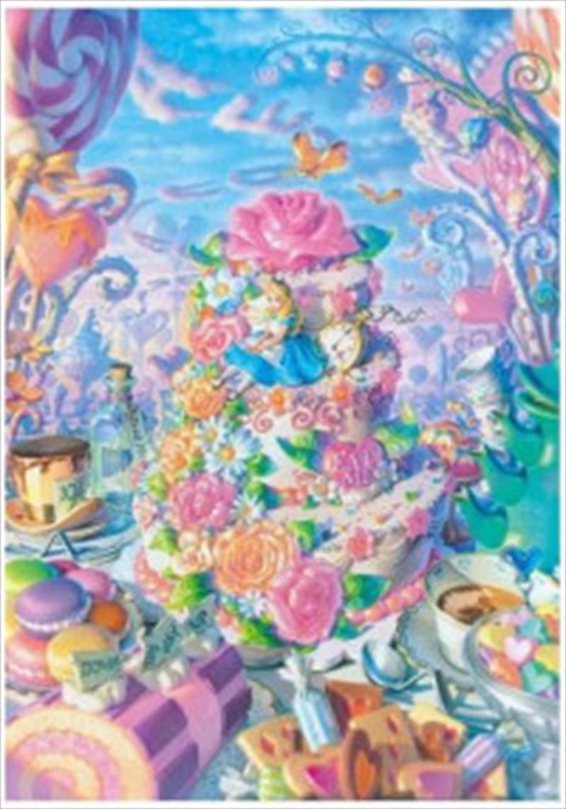 Tenyo Puzzle Disney Alice in Sweets Land Puzzle 500 pieces | Merchandise