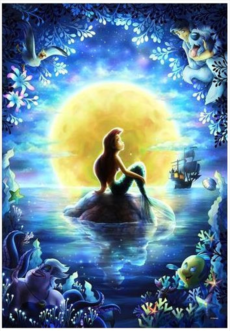 Tenyo Puzzle Disney Little Mermaid's Moon Night Pray Puzzle 500 pieces | Merchandise