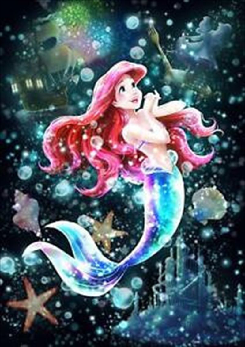 Tenyo Puzzle Disney the Little Mermaid Ariel Shining Perfect World Puzzle 266 pieces | Merchandise
